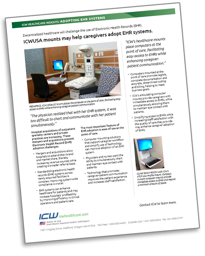 ICW Healthcare Insights report on adoption of Electronic Health Records