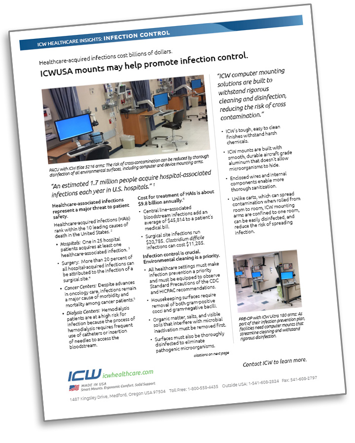ICW Healthcare Insights report on Infection Control