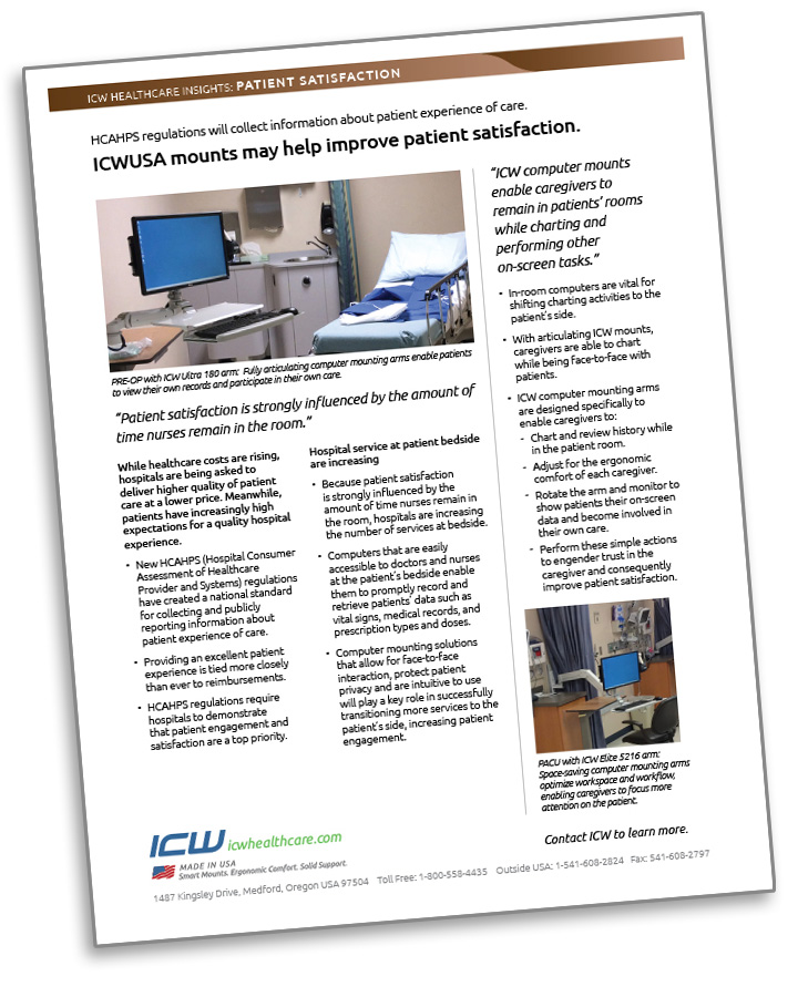 ICW Healthcare Insights report on improving patient satisfaction