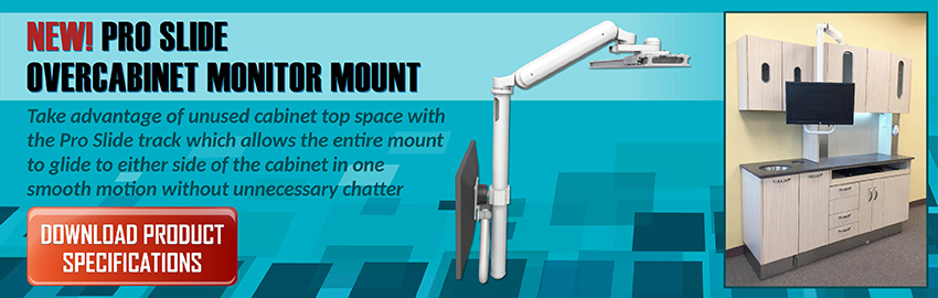OverCabinet Monitor Mount