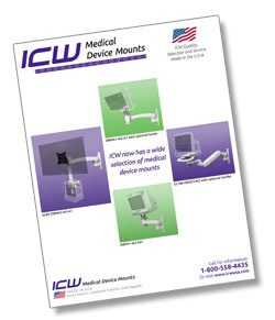 ICW Healthcare's Medical Device Mounts Brochure